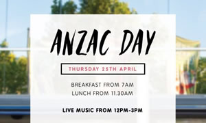 ANZAC Day at Hopscotch